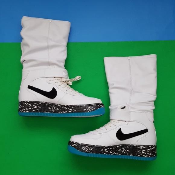 Women Nike AF1 Upstep Warrior N7 Sneaker Boots NWT